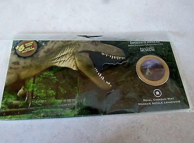 2010  Dinosaur Exhibit-Featuring 50 Cent Albertosaurus Coin
