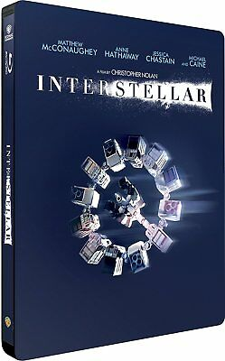 Interstellar (Blu-ray Steelbook) BRAND NEW