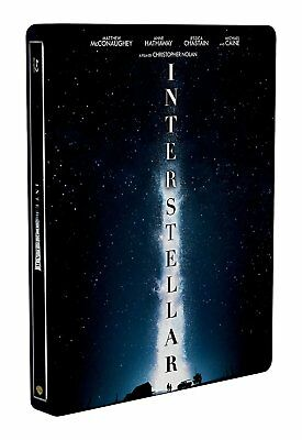 Interstellar (Blu-ray Steelbook) BONUS DISC BRAND NEW