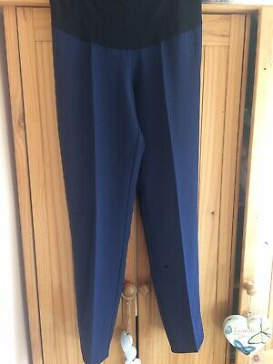 Two Pairs Of maternity trousers size 12
