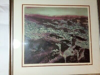 "Sidney NOLAN original lithograph ""Burke & Wills"" 48/60 signed -"