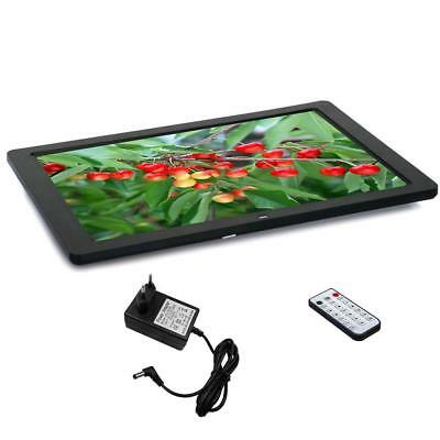 15 '' hd - digital photo bilderrahmen film mp3 - player remote farbe schwarz KS