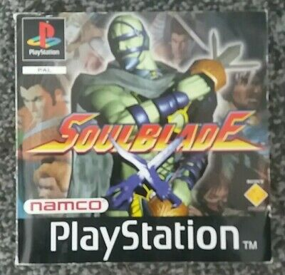 SOULBLADE Playstation PS1 - Manual Only