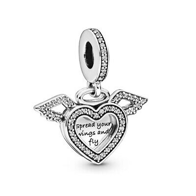 Mother and Son Charm for Bracelet. Authentic 925 Sterling Silver Lovely Mum Gift