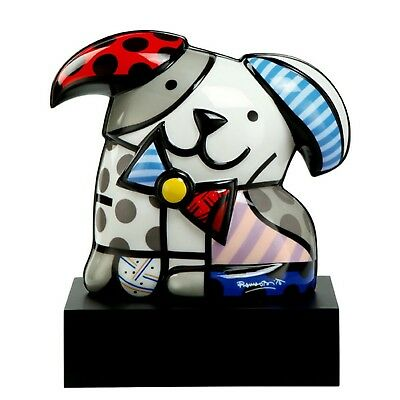 Goebel Skulptur PopArt GINGER 66450859 Romero Britto Hund dog best friend
