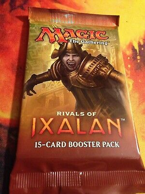 1x Magic the Gathering MTG Rivals of Ixalan New Factory Sealed Booster Pack