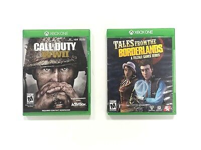 Xbox One Game Bundle - Call Of Duty: WWII & Tales from the Borderlands