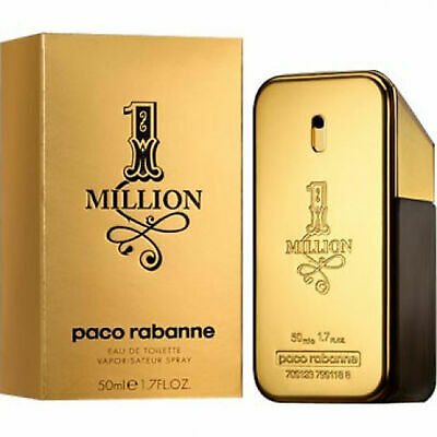 Paco Rabanne One Million Eau De Toilette Uomo 50ml Profumo Originale