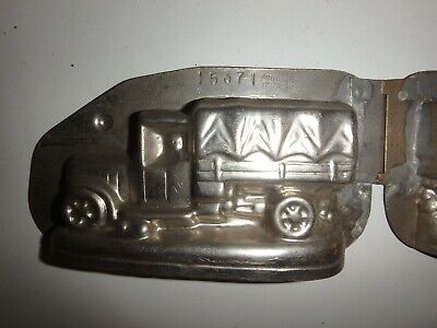 Antike SchokoladenformLKW antique chocolate mold TRUCK VORMENFABRIEK # 15371