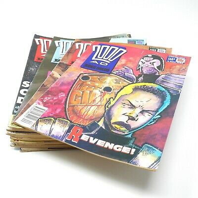 1989-1990 2000AD COMIC Bundle | 37 Issues | Includes 651-680, 682-686, 688-689