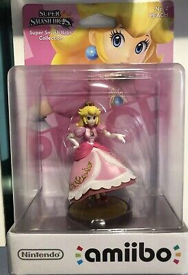 Amiibo Super Smash Bros Peach N°2 NEUF NEW - 1ère Edition Nintendo