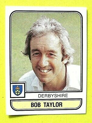 Panini.. Cricket 83...x 1 Sticker. ..# 13   Bob Taylor    Derbyshire  ...vg