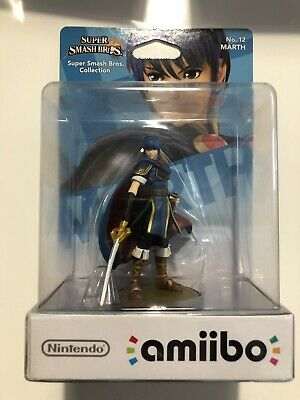Amiibo Super Smash Bros Marth N°12 NEUF NEW - 1ère Edition Nintendo