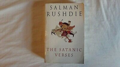 Signed copy of The Satanic Verses by Salman Rushdie (Paperback, 1992)