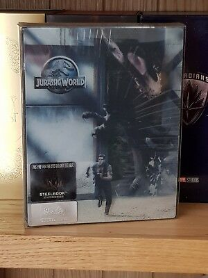 HDZETA JURASSIC WORLD 3D Blu-Ray Steelbook NEW SEALED