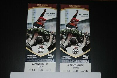 Indy 500 tickets  2019