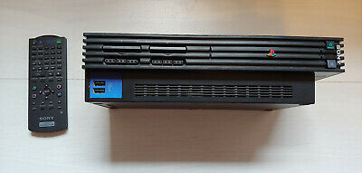 Sony PlayStation 2 Schwarz (PAL - SCPH-50004) + 2 Controller + 11 Spiele - TOP!!