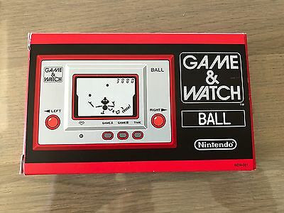 Nintendo GAME & WATCH BALL limited NEW  - import Japon