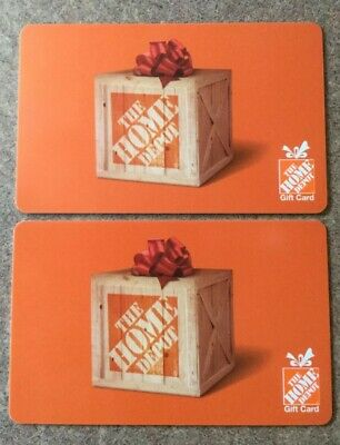 $200 Home Depot Gift Card, unused, new, no expiration dates
