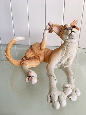 """Rare Collectable Country Artist A Breed Apart Cat Ornament Named """"Ginger"""""""