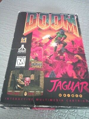 Empty Box Boite Vide Doom Atari Jaguar Not Alien Predator Raiden