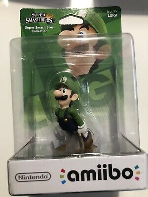Amiibo Super Smash Bros Luigi N°15 NEUF NEW - 1ère Edition Nintendo
