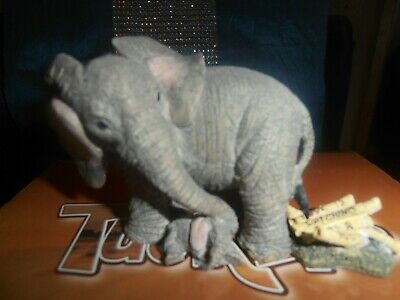 tuskers collectable henry elephant,watching over you,perfect
