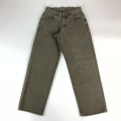 4d7d449a VINTAGE LEE GENUINE Jeans Mens 30x30 Union Made in USA Straight Leg ...