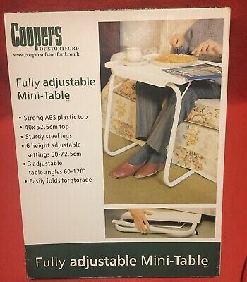 Coopers of Stortford Fully adjustable Mini-Table