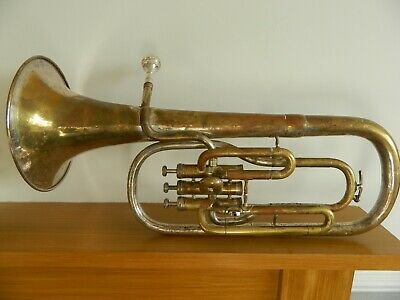 Trumpet In Original Case,with Denis Wicks London,cornet Mouth Piece.