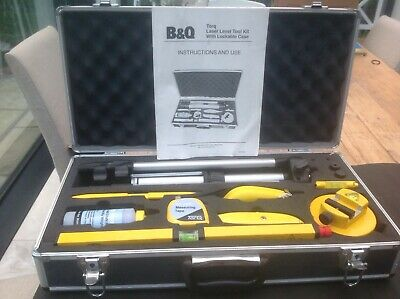 B&Q Torq Laser Level Tool Kit with lockable case. Hardly ever used.