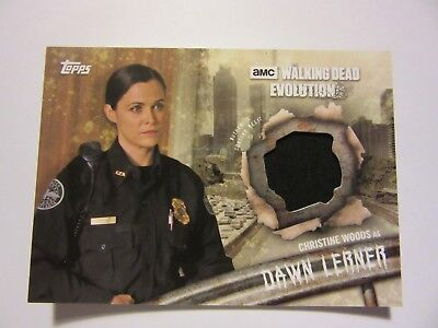 The Walking Dead: Evolution, Relic Card, Dawn Lerner, 2017, Topps, Costume Card