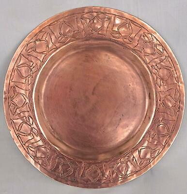Arts & Crafts Copper Plate