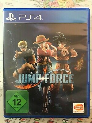 Jump Force - Standard Edition (Sony PlayStation 4, 2019) PS4 Spiel