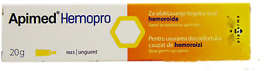 Ointment for relief of discomfort caused by hemorrhoids Apimed Hemopro, 20 g