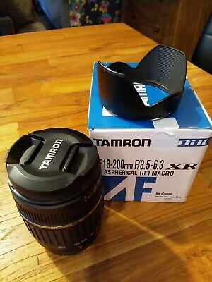 TAMRON DiII AF18-200mm F/3.5-6.3 XR LD ASPHERICAL (IF) MACRO FOR CANON (A14E)