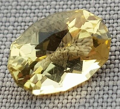 WaterfallGems 3.00ct Fancy Cut Citrine, 11.5x8.1mm