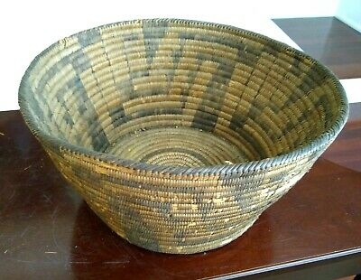 Large Antique Basket - PIMA  - Early 20th Century