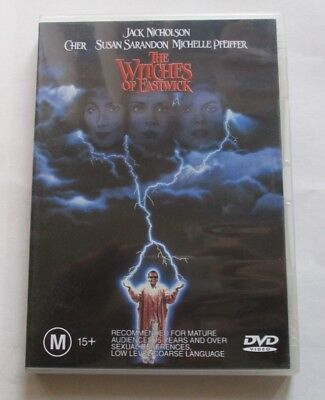 DVD - The Witches of Eastwick - Jack Nicholson - Cher