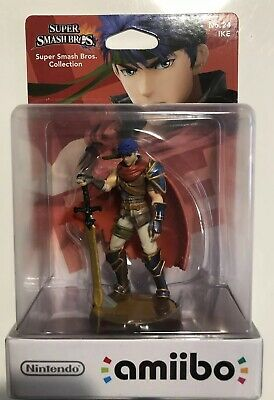 Amiibo Super Smash Bros Ike N°24 NEUF NEW- 1ère Edition Nintendo