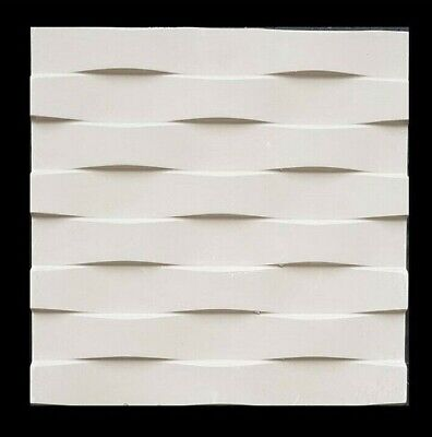 Parallel 3D Decorative Wall Panel ABS Plastic Mould Mold Plaster Gypsum DIY Tile