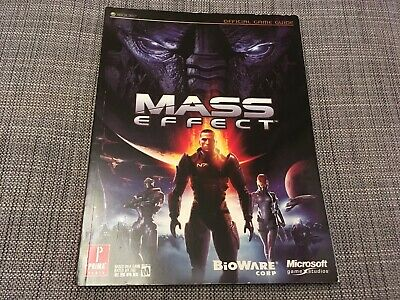 MASS EFFECT Official Strategy Guide XBOX 360