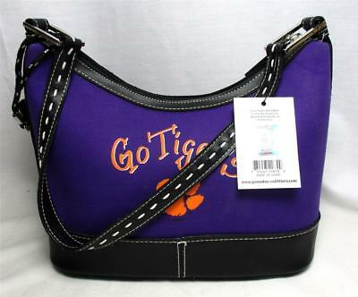 Clemson Tigers Handbag Ladies Saddle Purse Bag Ncaa Game Day New Nwt