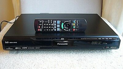 PANASONIC DVD Recorder/Freeview/HDD 160GB/Full HD/SD *Free HDMI & SCART Cable*