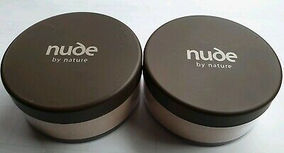 2 x nude by nature Natural Mineral Cover - Light Skin Tones -15 g