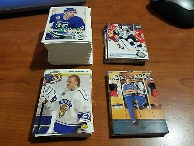 1992-93 Upper Deck UD Series 2 base set 441-640 complete hockey set young guns