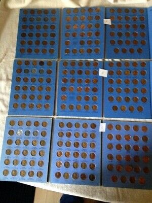3 -Complete Lincoln Wheat Penny Cent Collection  in Album 1941-1974 -