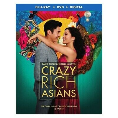 Warner Home Video Br703502 Crazy Rich Asians (2018/blu-Ray/dvd Combo/digital ...