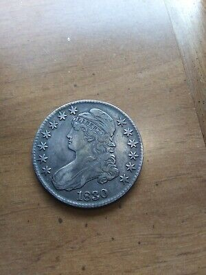 1830 Capped Bust Half Dollar Look At Nice Coin Collection Listed Nrsv.