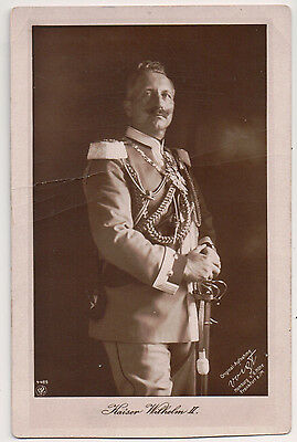 Vintage Postcard Wilhelm II, German Emperor, King of Prussia